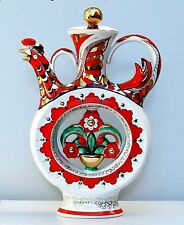 Singing decanter KUMANETS, 22K gold, Lomonosov / Imperial Porcelain, Russia, NEW