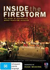 Inside The Firestorm DVD, Black Saturday ABC, Hugo Weaving, Like New, Free Post
