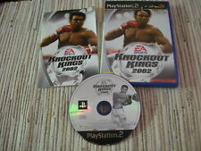 PLAYSTATION 2 PS 2 KNOCKOUT KINGS 2002 BOXEO