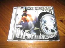 Chicano Rap CD Lil Minor - Hypothermia - Chino Grande Slow Pain Baby Jokes