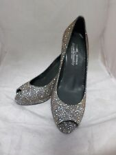 Stuart Weitzman Platform PEEP Toe Shoe Bronze UK 3 EU 36 Ln07 66 Sales