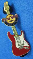 DALLAS TEXAS BRICK RED FENDER ERA GUITAR SERIES 2010 Hard Rock Cafe PIN LE150