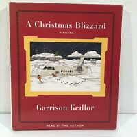 A Christmas Blizzard by Garrison Keillor 5 CD Audiobook Unabridged Ships Fast