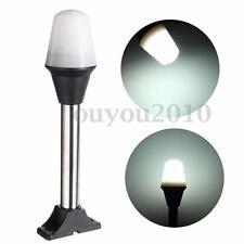 LED Shoreline Marine Navigation Stern Anchor Lighting Pontoon Boat Lamp White 5W