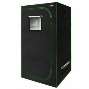 VIVOSUN 32x32x62 inch Mylar Hydroponic Grow Tent with Observation Window and...
