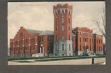 1908 State Armory Oswego post card Sterling NY to Olive Moorman Williamson NY