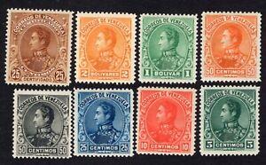Venezuela Ciudad Bolivar 1899-1903 complete set Mi#53-60 MH CV=554,20€ RARE!! R!