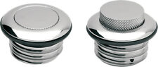 Pop Up Screw In Gas Cap Non-Vented Chrome Drag Specialties 1984-1996 Harley