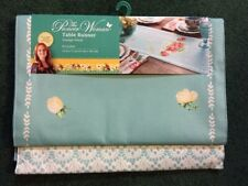 "NEW in Package~Pioneer Woman~Table Runner~Vintage Floral~Reversible~14"" x 72"""