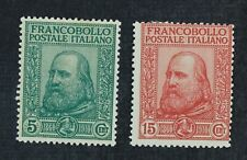 CKStamps: Italian Stamps Collection Scott#115 116 Mint H OG