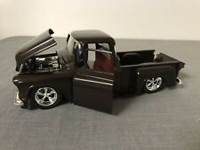 XRARE Jada 1955 Chevrolet Stepside  pickup  1:24 Scale metallic Brown exterior
