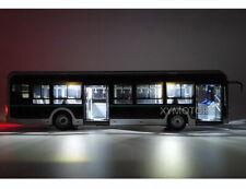 1/42 YuTong U12 City Bus Light Diecast Model Bus Car Toys Boys Girls Gift