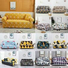 1~4 Seaters Branches Printed Slipcover Sofa Couch Cover Case Home Office