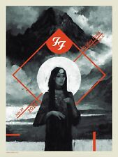 #/300 CHICAGO FOO FIGHTERS 2018 Wrigley Field Poster Show Print 7-29 Fitzgerald