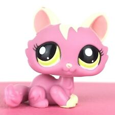 Authentic Littlest Petshop 1900 Crouching Kitty Cat / Sphynx Chat Pet Shop LPS