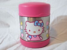 Hello Kitty Thermos Funtainer 10 Ounce Food Jar Inuslated Pink