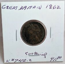 1862 Great Britain Farthing