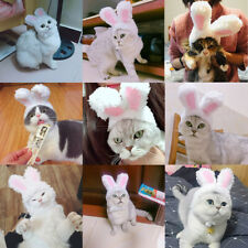 Funny Plush Pet Dog Cat Cap Costume Rabbit Hat Party Cosplay Accessorie Headwear