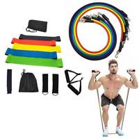 17 Piezas Bandas Elásticas Loop Únicos Home Ejercicio Glutes Yoga Pilates Para