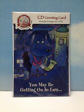"""Blues CD  """"Progression Of An American Tradition""""  GREETING CARD """"Puppy Love"""" NEW"""