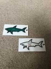 PAUL AND SHARK STICKERS X2 - NEW