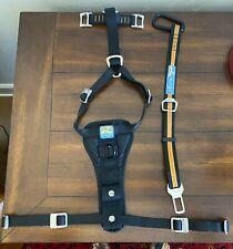 Kurgo Dog Tru-Fit Car & Walking Harness | Includes Dog Seat Belt Tether | Medium