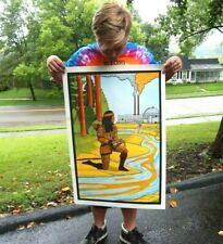 Rare NOS Original Native American Pollution Poster Circa 1971 Vagabond Creations