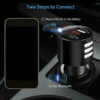 Bluetooth 2.0 Car USB Charger FM Transmitter Wireless Players MP3 Adapters Z1Z6