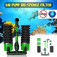 Biochemical Sponge Filter Fish Tank Double  Head Aquarium Sponge Equipments