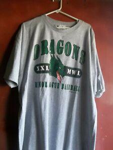 Vintage 2000 Dragons Minor League Baseball  Shirt Size XXL