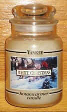 Yankee Candle - 22 oz - WHITE CHRISTMAS - Black Band - VERY RARE LABEL!!
