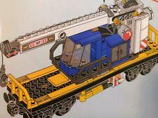 BLITZVERSAND *** Lego Eisenbahn Schienenkran neu für 60198 60052 mit Minifigur