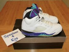 NIKE AIR JORDAN RETRO 5 V Ls Grape 2006 size 9.5 314259 131