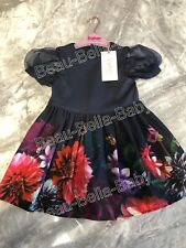 TED BAKER BABY GIRL 12-18 MONTHS DRESS BNWT RRP £32 BUBBLE SLEEVE