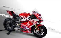 Cowling Kit Fairing Bodywork Kits work for Ducati 848 1098 1198 07-12 white red