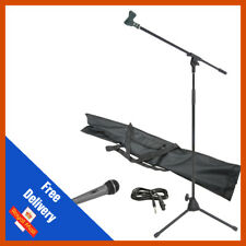 Chord Professional Dynamic Microphone & Stand Kit Inc Holder and Lead