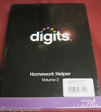 New Pearson Digits Homework Helper Volume 1 & 2 Grade 8
