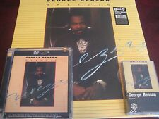 GEORGE BENSON BREEZIN DVD SURROUND CD + 180 GRAM LP + CASSETTE COLLECTORS SET
