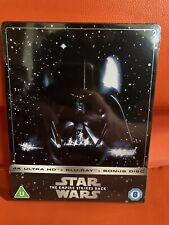 SOLD OUT STAR WARS THE EMPIRE STRIKES BACK 4K ULTRA HD STEELBOOK BLU-RAY SEALED