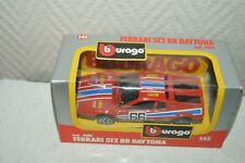 Car Burago Ferra 00004000 ri 512 Bb Daytona Die-Cast New 1/43 Endurance Indy Race