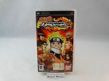 NARUTO ULTIMATE NINJA HEROES 1 - SONY PSP PLAYSTATION PAL ITA ITALIANO COMPLETO