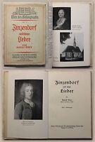 Marr Zinsendorf und seine Lieder 1936 Leben Werk Biografie Herrnhut Kirche xy