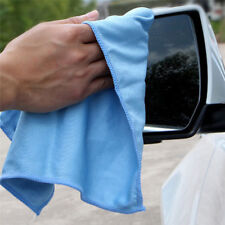 Car Microfiber Glass Cleaning Towel Windshield Window Washing Cloth Polishing ..