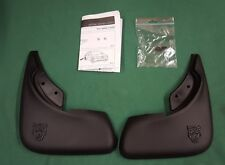 JAGUAR S-TYPE REAR MUD FLAPS SPLASH GUARD NEW GENUINE