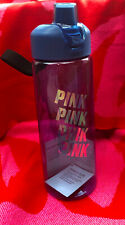 "Victoria's Secret Water Collegiate Bottle ""Pink"" Holographic Effect, 32 oz NWT"