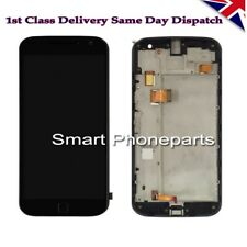 Para Motorola Moto G4 Plus XT1642 XT1644 pantalla táctil y pantalla LCD blanca con Fram