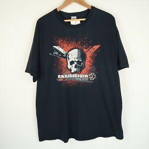 RAMMSTEIN Reise reise Vintage Retro Metal Band Tshirt Rock punk SZ XXL (G186)