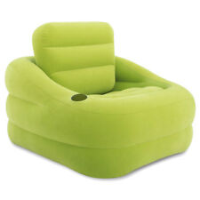 INTEX Lounge Couch Sessel Accent Camping Luftbett Fernsehsessel Grün
