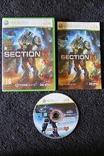 XBOX 360 : SECTION 8 - Completo ! La più grande battaglia del genere umano !