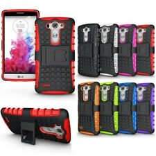 Heavy Duty Shockproof Bumper Hybrid Armor Stand Case For Various LG Mobile Phone